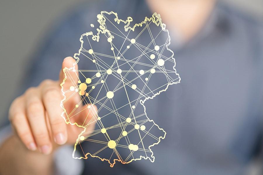 Deutschlandweites Netzwerk
