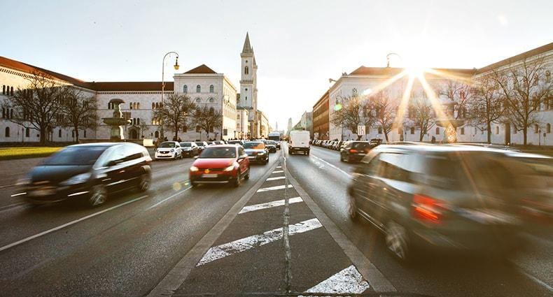 Leopoldstraße in München